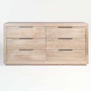 Holden 6 Drawer Dresser In Misted Ash