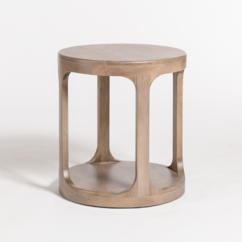 Mason End Table In Misted Ash