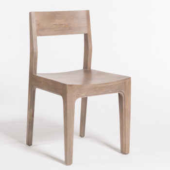 Maxwell Dining Chair In Misted Ash