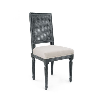 Annette Side Chair, Gray