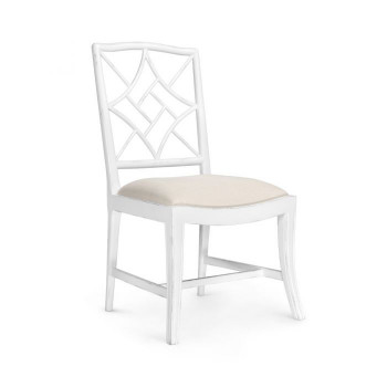 Evelyn Side Chair, White
