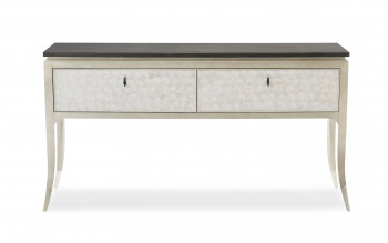 Capiz Shell Two Drawer Sideboard