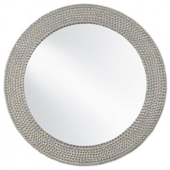 Rogan Silver Mirror