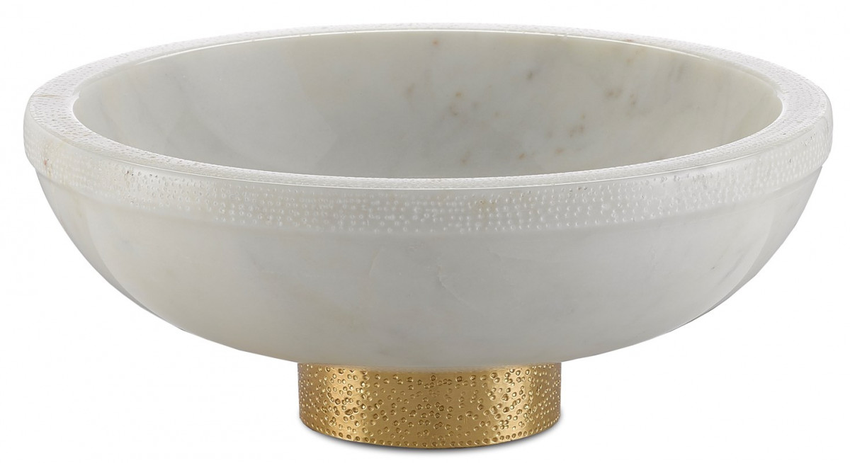 Valor Large White Bowl