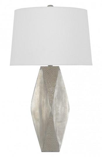 Zabrine Nickel Table Lamp