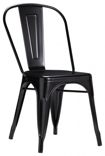 Bastille Side Chair, Black