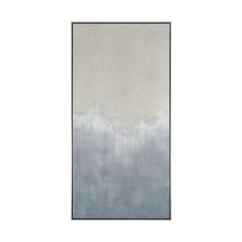 Gray Crash Wall Decor In Grey And Cream