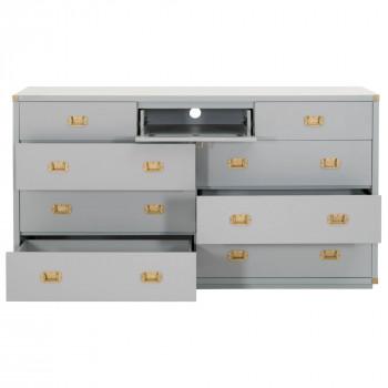 Bradley 9-Drawer Media Dresser
