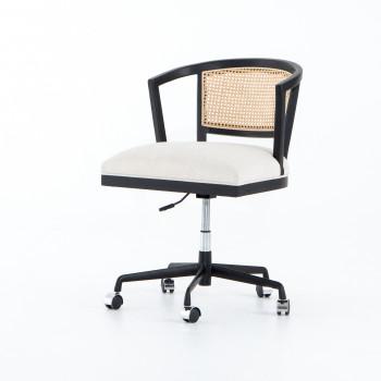 Alexa Desk Chair-Savile Flax