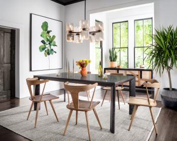 Conner Dining Table-Bluestone