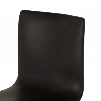 Diaw Dining Chair-Distressed Black