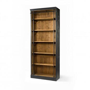Ivy Bookcase -Matte Black