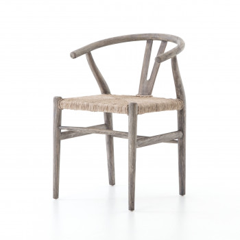 Muestra Dining Chair-Weathered Grey