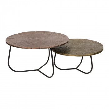 Cross Section Tables Set Of 2