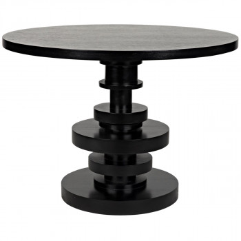 Corum Round Table, Hand Rubbed Black