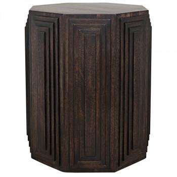 Moore Side Table, Ebony