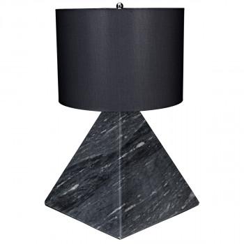 Sheba Table Lamp With Black Shade