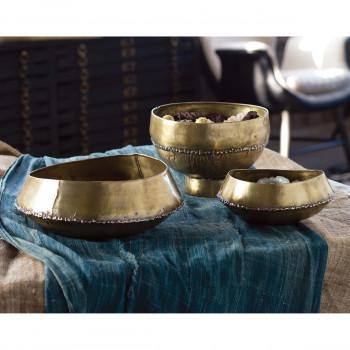 Bedouin Bowl Platform (Brass)