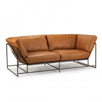 Jameson Leather Sofa (Columbian)