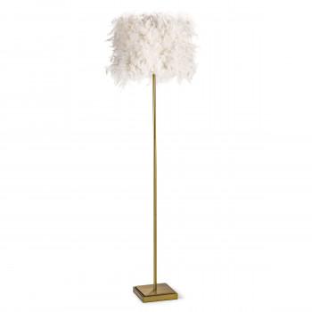 Jasmine Floor Lamp (White)