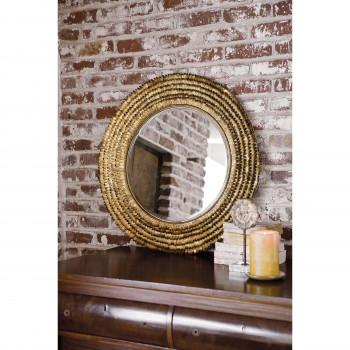 Petal Mirror Small (Gold)