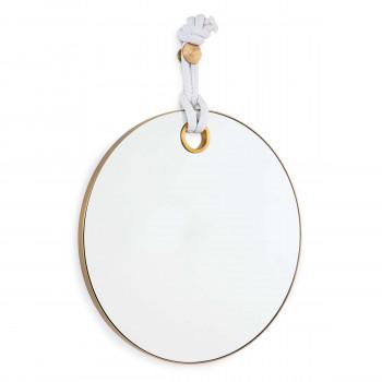 Porter Mirror (Natural Brass)