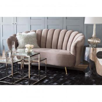 Rita Velvet Sofa