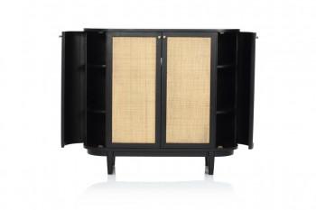 Cane Bar Cabinet