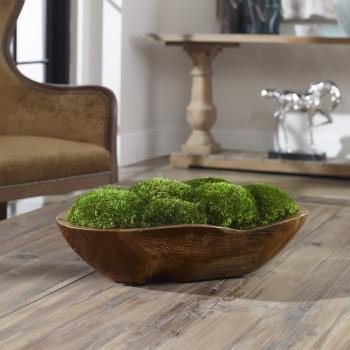 Uttermost Kinsale Moss Centerpiece