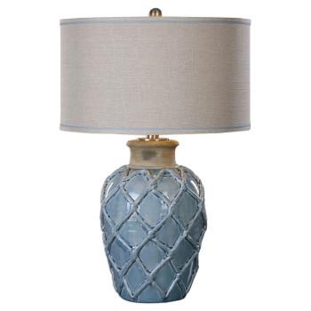 Uttermost Parterre Pale Blue Table Lamp